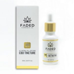 Buy Faded Cannabis Co. CBD Tinctures UK