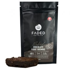 Buy Faded Cannabis Co. THC Brownies UK