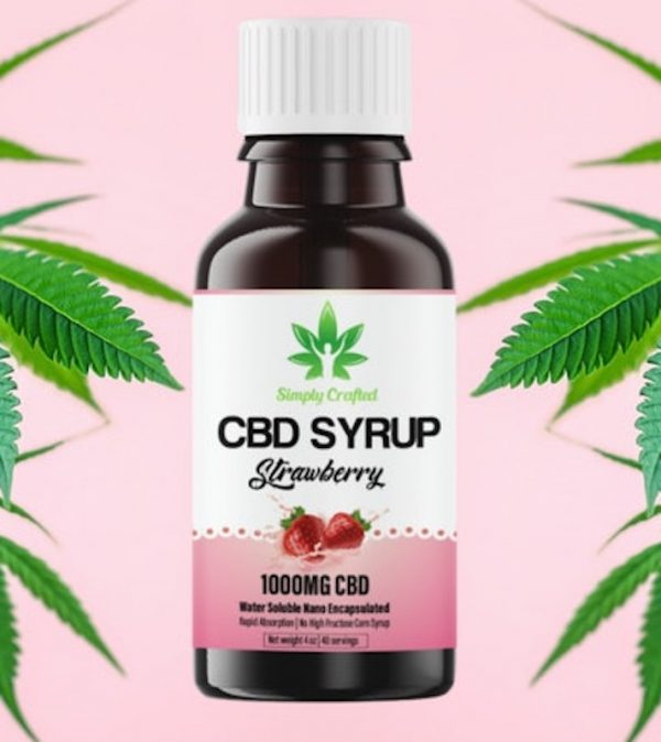 Buy Simply crafted CBD syrup UK