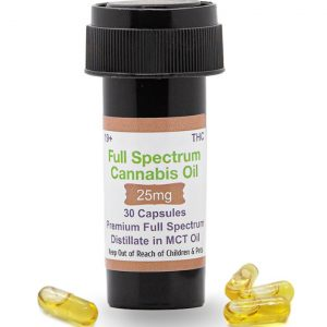 Buy THC Capsules – 25mg UK