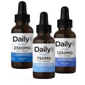 Daily CBD Complete Natural Tinctures UK